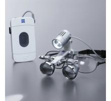 Бинокулярная лупа EyeMag Smart + осветитель EyeMag Light II