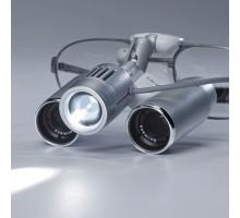 Бинокулярная Лупа EyeMag Pro F  + осветитель EyeMag Light II